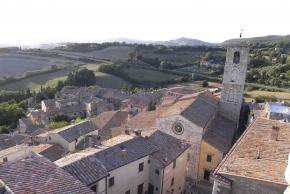 S. Casciano - centro storico dall'alto